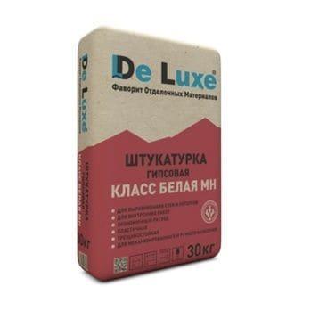 Гипсовая штукатурка «DeLuxe».