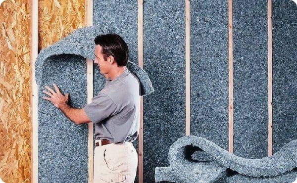Каркасный способ шумоизоляции подойдёт для помещений с большой площадью и высокими потолками.