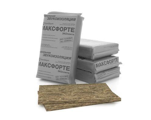 Базальтовые плиты из вулканической породы МаксФорте ЭКОплита PRO.