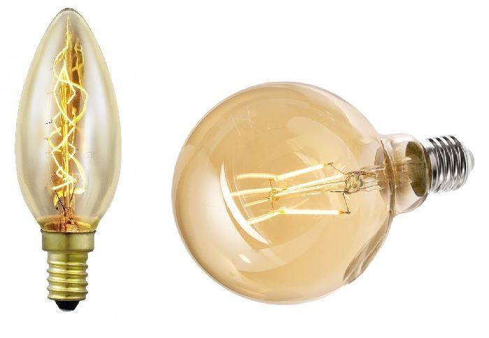 Лампы накаливания.