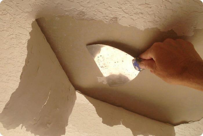 Оставленные плохо зафиксированные части приведут к возникновению трещин на готовом основании.