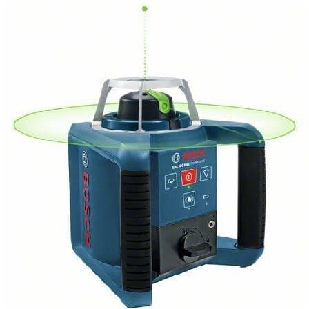 Лазерный нивелир BOSCH GRL 300 HVG с зелёным лучом.