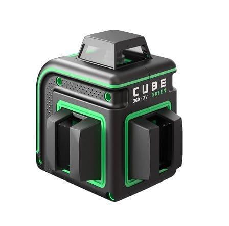 Лазерный нивелир Cube с зелёным лучом.
