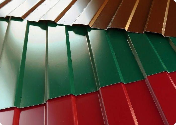 Профлист изготавливается из стали, защищённой от коррозии цинковым покрытием.