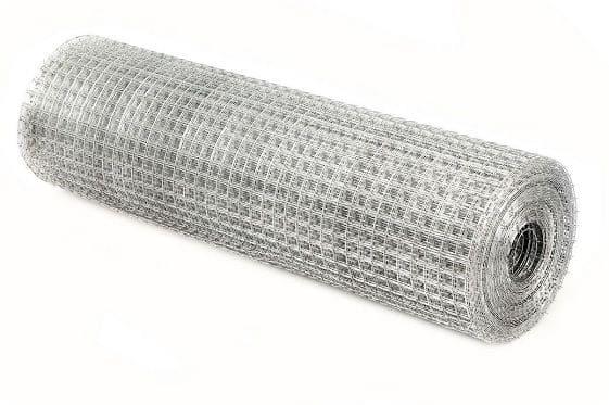 Сетка из металла для армирования штукатурки изготавливается из оцинкованной или не оцинкованной проволоки, нержавеющей стали или арматурного прута.