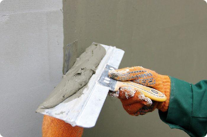 Цементосодержащая шпаклёвка