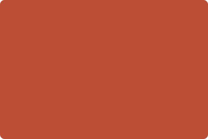 Красно-коричневый или терракотовый оттенок.