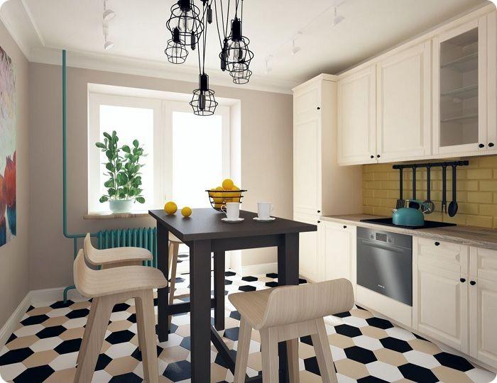 Планируя дизайн кухни 10 кв. метров, важно тщательно продумать каждый метр, по максимуму сохранив её полезную площадь. Предлагаем узнать, как в условиях компактного пространства разместить всё необходимое, сохранив уют, простор в сочетании с функциональностью помещения.