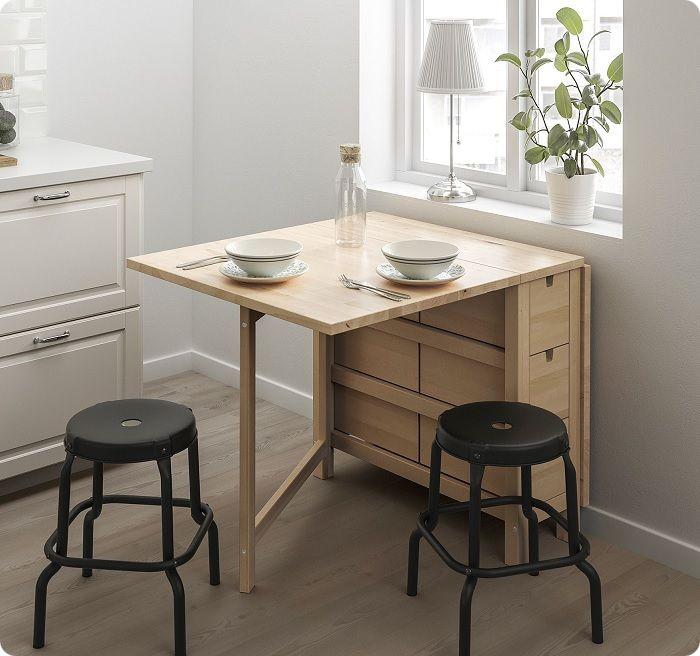 Для кухонь площадью 8 метров оптимальный вариант – раскладные столы. Благодаря широкому ассортименту, есть возможность выбрать эргономичную, удобную, стильную модель.