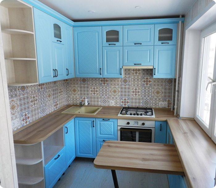 Кухня 8 м².