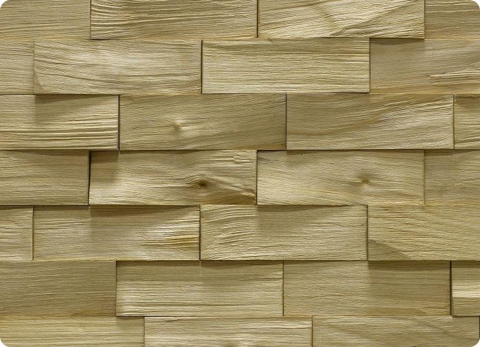 Сегодня популярны модели из расколотого массива дерева, который скомпонован в уникальных вариациях с видимой структурой волокон вплоть до каждого сучка. Такое оформление передаёт естественную красоту дерева.