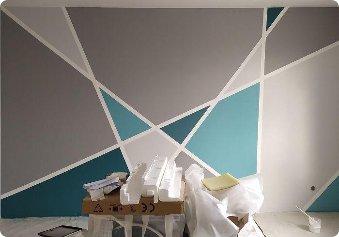 Геометрия на стенах.