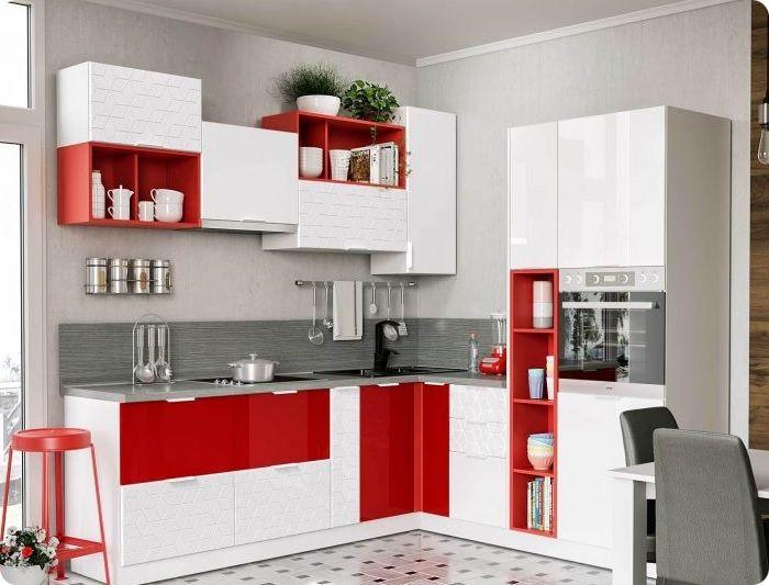 При работе с красным цветом важна умеренность. Если её не соблюдать, нарушенные границы при оформлении интерьера будут видны невооруженным взглядом.