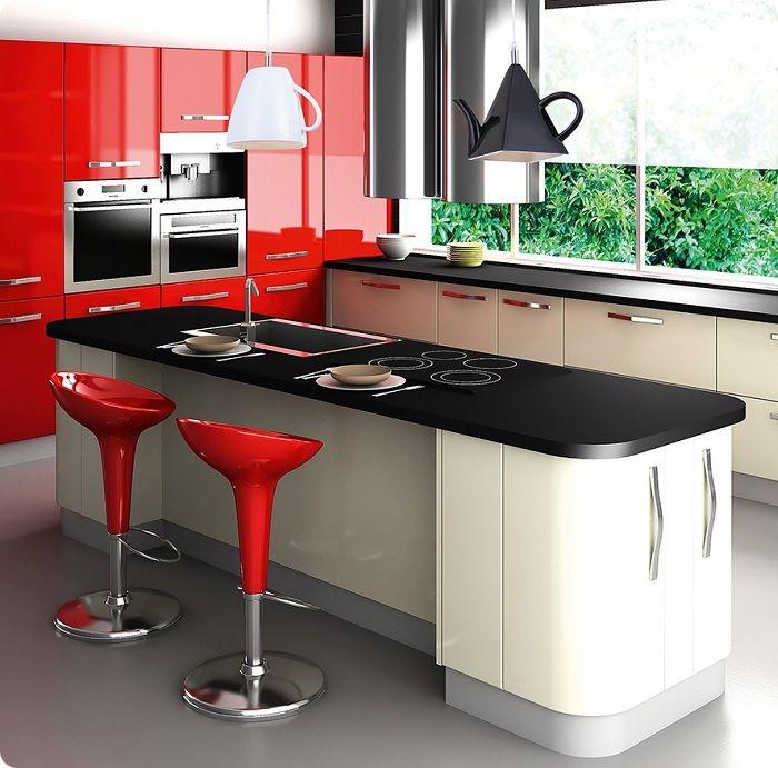 Красная кухня.