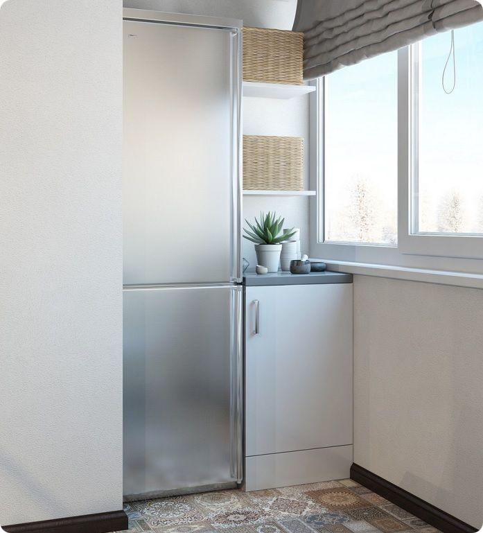 Устанавливать холодильник на балконе могут только жители южных регионов России, где суточная температура не опускается ниже 10 градусов. Опасен для техники и нагрев — при частом нахождении на солнце при температуре выше 30 градусов она быстро выходит из строя.