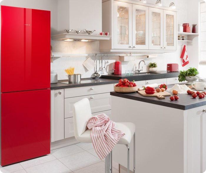 Сегодня производители предлагают модели холодильников с необычным ярким внешним видом.