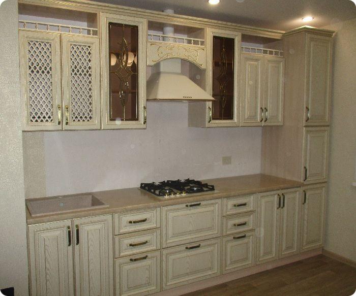 Фактурный кухонный гарнитур