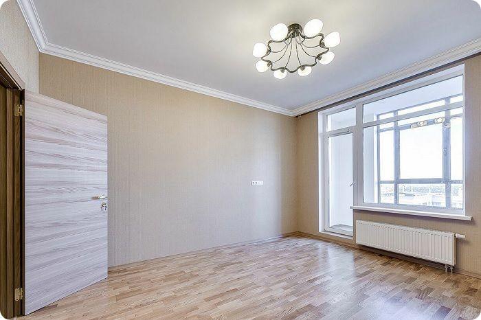 Чистовая отделка квартиры.