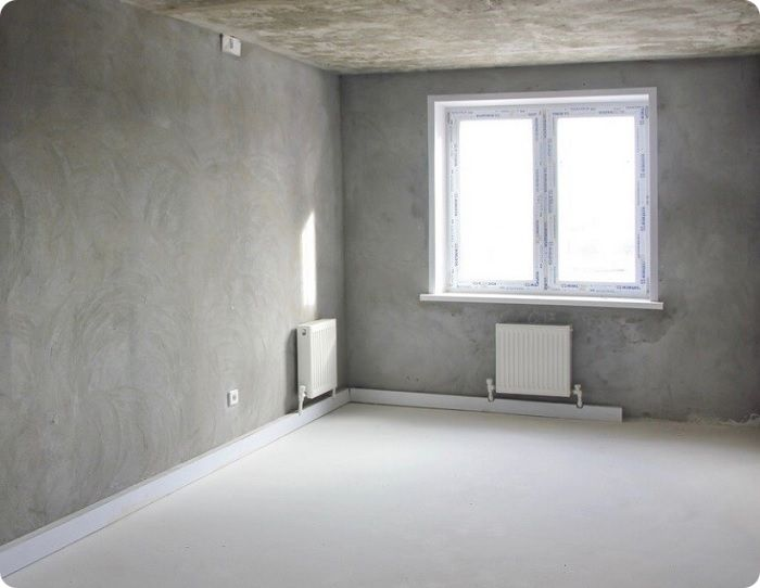 Черновая отделка квартиры.