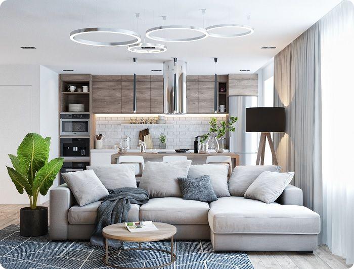В 2021 году стало модным оживлять комнатное пространство растениями. Они подарят ощущение чистого воздуха, зелени и единения с живой природой для комфортного проведения времени.