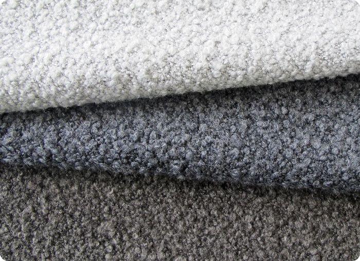 Текстиль букле для обивки мебели