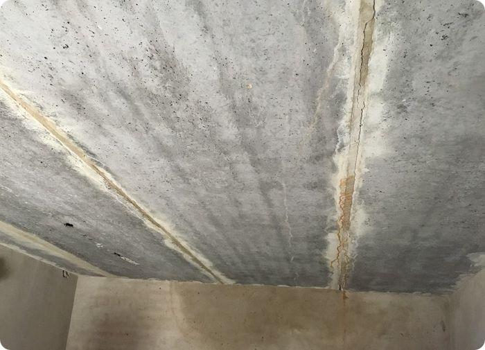 В преимуществе потолок в подвале – бетонная плита