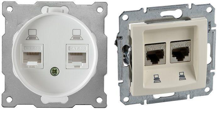 Устройство с прямым подключением к интернету оборудовано двумя LAN-гнездами и связывает между собой компьютеры, работающие вместе.