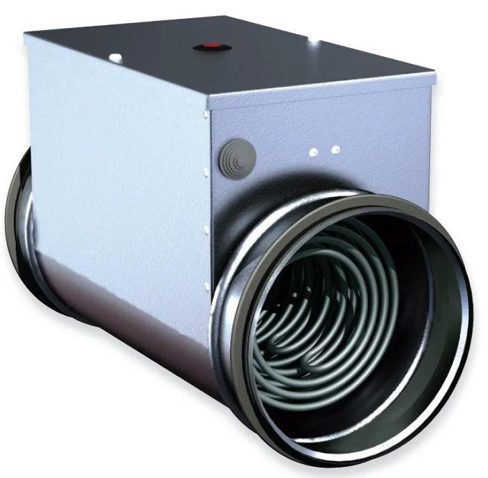 Электрический канальный нагреватель для вентиляции дома.