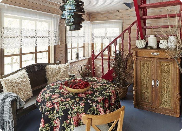 Максимальная естественность материалов — текстиля, напольного покрытия, поверхности стен, формирует завершённость и лаконичность помещения, даёт чувство расслабленности, ощущения свежести и уюта.