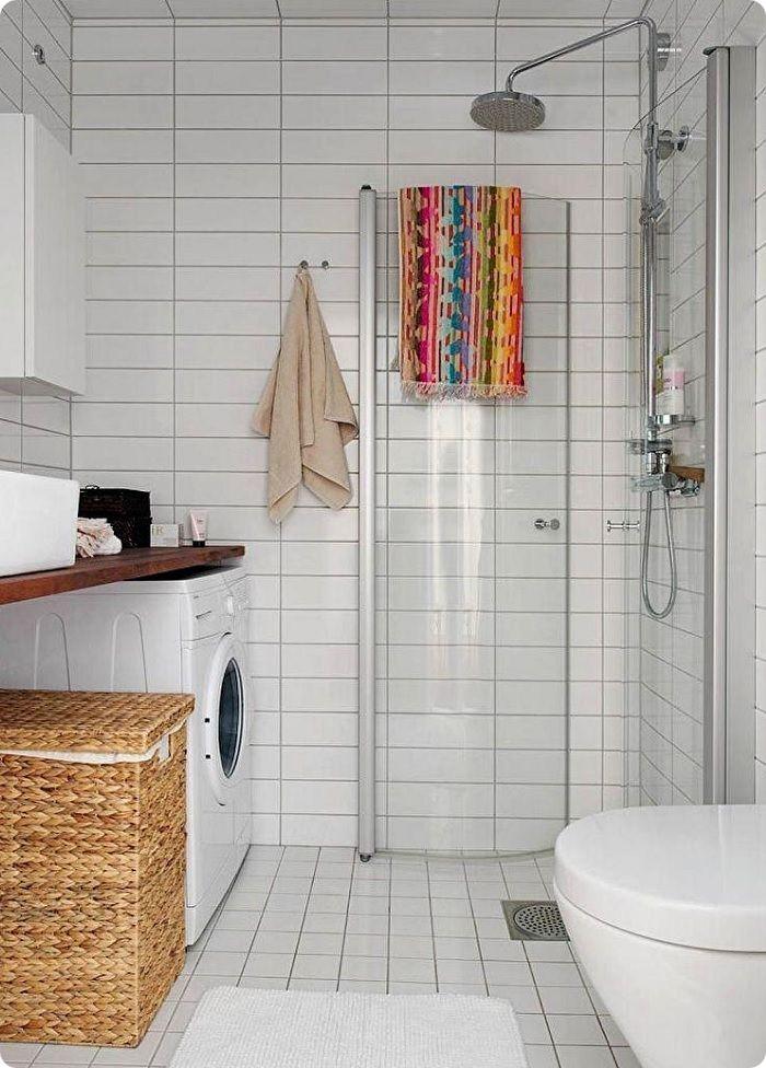 Скандинавский стиль – идеальный вариант для крохотного помещения. Для него свойственна простота, уют и свет.
