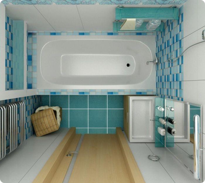 Автономная ванная комната.