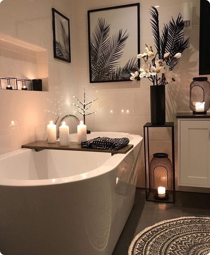 Уютная ванная комната.