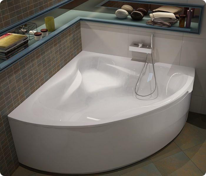 Угловая ванна.