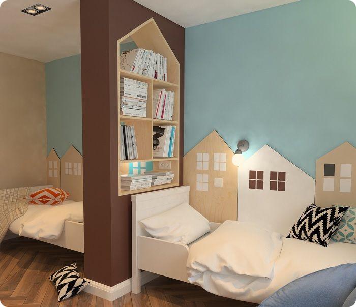 Комната для двух деток.
