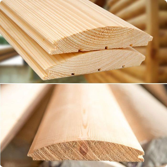 Деревянный блок-хаус.