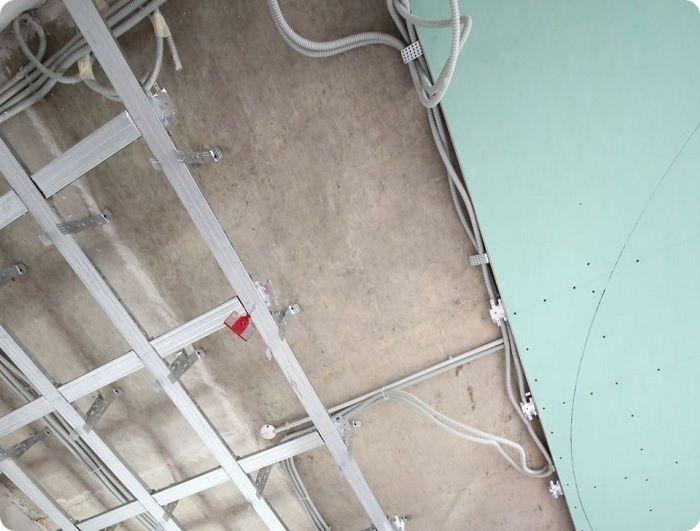 Исключить небезопасные контакты поможет гофра, в которую будут «спрятаны» кабели.